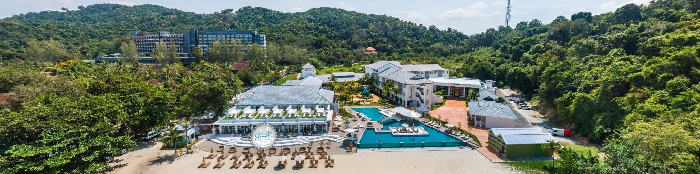 dash resort aerial panoramic - Hotel and Villa Furnishing