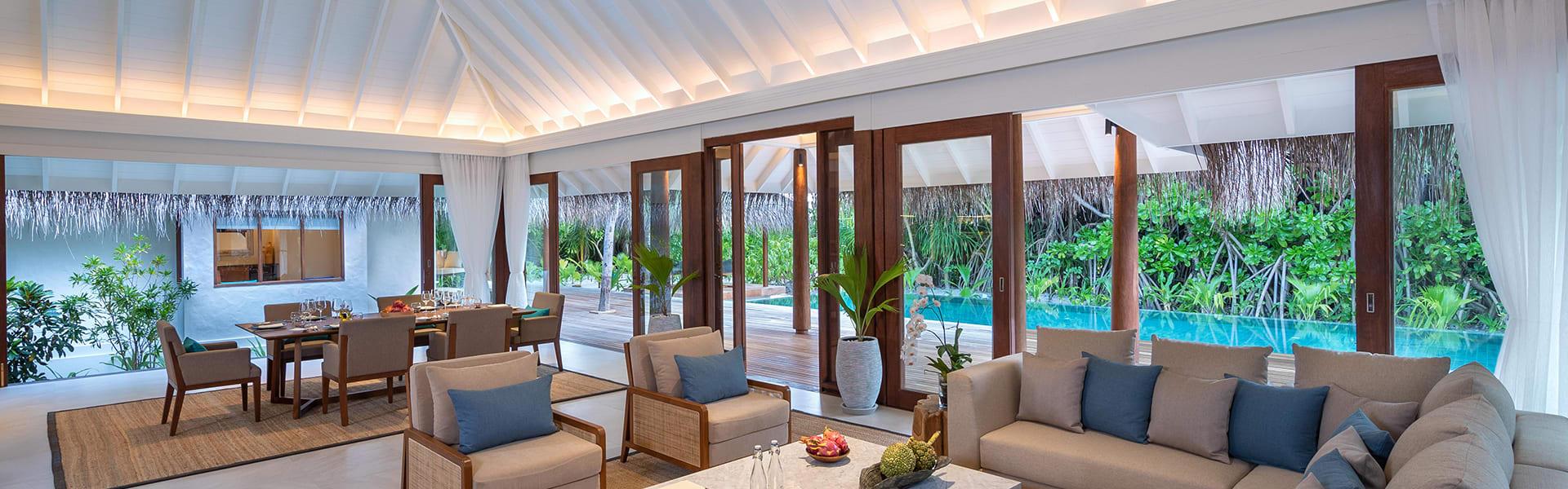 anantara kihavah four bedroom beach pool residence lounge area 1920x600 - Home